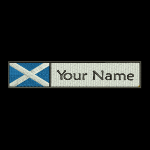 Scottish Flag & Name
